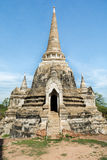 Buddist Chedi in Thailand Stock Afbeelding