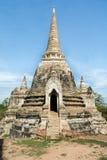 Buddist Chedi w Tajlandia obraz stock