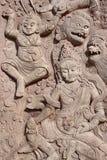 buddist giganta ściany fotografia stock