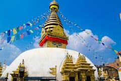 Buddist helgedom Arkivbild
