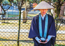 Buddist monk in Nara Royalty Free Stock Image
