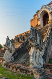 Buddist pagoda in Chiang Mai, thailand Stock Photos
