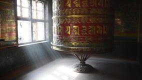 Buddist praying wheels
