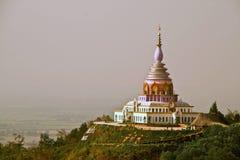 Buddist tempel Arkivbild