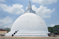 The buddist temple at Anuradhapura Royalty Free Stock Image