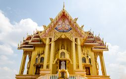 Buddist temple and blue sky in Thailand. Stock Image