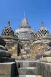 Buddist temple Borobudur Royalty Free Stock Photo