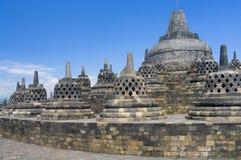 Buddist temple Borobudur Stock Images