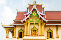 Buddist temple building Stock Photo