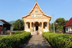 Buddist temple at Champasak Royalty Free Stock Photos