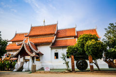 Buddist temple in Chiang Mai Stock Photography