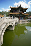 Buddist temple in China Stock Photography