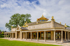 Buddist temple at Conishead Priory, Ulverston Royalty Free Stock Photo
