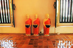 A buddist temple - details of interior Royalty Free Stock Image
