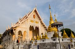 Buddist temple in Lampang, Thailand Royalty Free Stock Photos