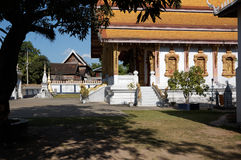 Buddist temple in Luang Prabang Stock Photos