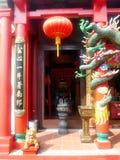 Buddist Xiang Lin Si Temple Malacca, Malaysia arkivfoton