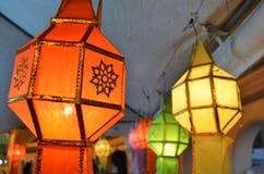 Buddista della lanterna Fotografia Stock