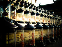 Buddisten anmärker @ Mount Emei, Kina Arkivfoton