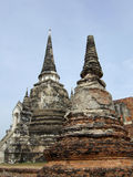 buddisten fördärvar tempelet arkivbilder