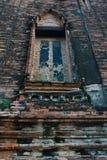 buddisten fördärvar tempelet Arkivfoto