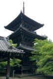buddisten gör nyoshintornet Arkivfoto