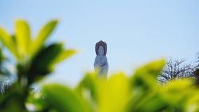 Buddisten parkerar, öppet utrymme på ön av Sanya Mitt av kultur och religionen royaltyfri bild