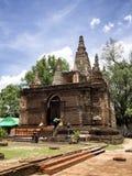 Buddistisk arkitektur Chiang Mai Thailand Arkivbild