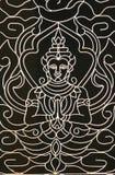 buddistisk design Arkivbilder