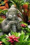 buddistisk elakt troll Arkivfoton