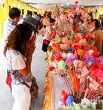 buddistisk festival Royaltyfria Foton