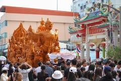 buddistisk festival Royaltyfria Bilder