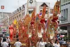 buddistisk festival Arkivfoto