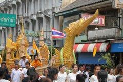 buddistisk festival Royaltyfri Fotografi