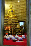 buddistisk helgedom för ceremonidagafton Royaltyfria Bilder