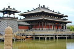 buddistisk kloster Royaltyfria Bilder