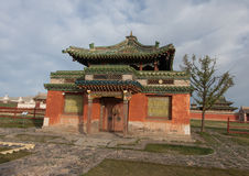 Buddistisk kloster Erdene Zu Arkivbild