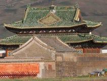 Buddistisk kloster Erdene Zu Fotografering för Bildbyråer