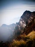 Buddistisk kloster Mt Emei Kina Royaltyfri Fotografi