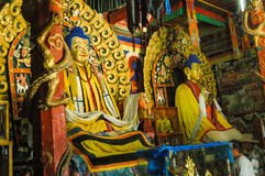 buddistisk klostermongolian Arkivfoto