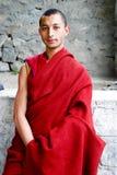 buddistisk monk Arkivbild