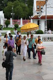 buddistisk monkprästvigning Royaltyfri Fotografi