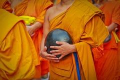 Buddistisk munk Fotografering för Bildbyråer