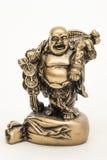 Buddistisk munk för statyett arkivfoton