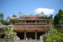Buddistisk pagod i Nha Trang, Vietnam Fotografering för Bildbyråer