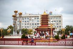Buddistisk pagod sju dagar Royaltyfri Foto