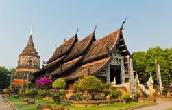 Wat Lok Molee Chiang Mai fotografering för bildbyråer