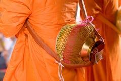 buddistisk prästvigning Royaltyfria Bilder