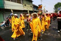 Buddistisk religiös ritual Royaltyfri Fotografi