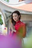 Buddistisk ritual Arkivfoto